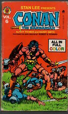 CONAN THE BARBARIAN 6 - Marvel Comics Tempo Books Edition - 1979