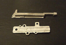 Dinky U.F.O. Intercepter No.351 Firing Bolt  and Plate Casting / spare parts