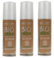 Bourjois Bio Détox Organique Base 59 MARRON CLAIR MAQUILLAGE LIQUIDE (pack de 3)