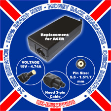 F. 19V 4.74A ACER ASPIRE 7730 7730G CHARGER ADAPTER PSU