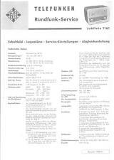 Telefunken Service Manual für Jubilate 1161  Copy