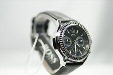 Hugo Boss 1502264 Damenuhr schwarz Chronograph Zirkone Damenmodell LUXUS Uhr NEU