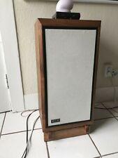 Custom Made Walnut Speaker Stands for KLH Model 5 Speakers