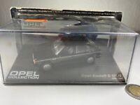X92 Opel Kadett D GT/E 1:43 schwarz ovp neu Opelmodell Modellauto Vitrine 1:43