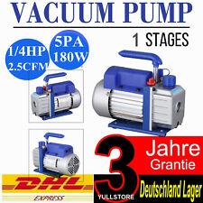 2.5CFM 1/4HP Vakuumpumpe Vakuum Unterdruckpumpe Pumpe Vacuum Pump Drehschieber