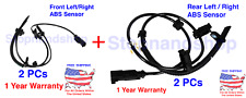 New ABS Wheel Speed Sensor for Enclave Traverse Acadia Outlook Front Rear Set