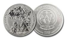 1 Oz 999 plata-silver-kinyarwanda/Rwanda berggorilla 2008-Embalaje original