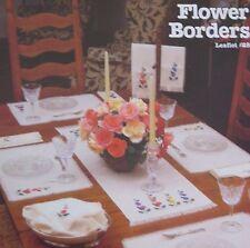 Flower Borders,   Cross Stitch leaflet