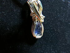 Stunning Tanzanite Sterling Silver Artisan made jewelry pendant