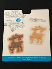 Reindeer Chocolate Mould 4 Shapes on 1
