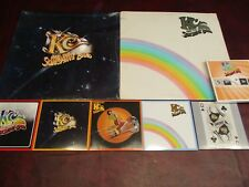 KC & THE SUNSHINE BAND WHO DO YA LOVE & PART 3 K.T. RECORDS Analog LP'S +5CD'S