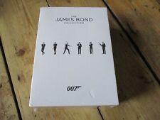 James Bond Collection, DVD, 24 Film Set, 2017, Region 2, Sealed, New