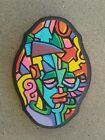 Original hand painted art work dr.nuse89 abstract graffiti folk raw outsider✍✌🖎