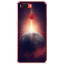Cover IN Gel TPU Per Oppo R15 Pro Disegno Terra Disegni
