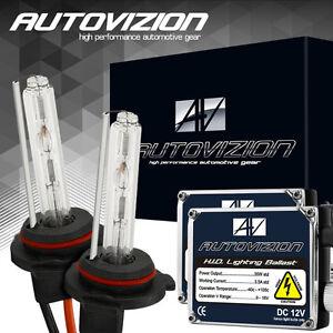 AUTOVIZION HID Headlight Conversion KIT 6k H11 H4 9003 9005 9006 9007 H13 5202