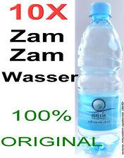 10 X Zamzam Eau de la Mecque Zam Zam Fontaine 100% Original Islam Musulman Hijab