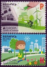 Wit-Rusland / Belarus - Postfris/MNH - Complete set Europe, Think Green 2016