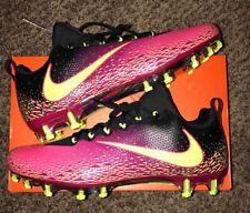 New Nike Vapor Untouchable Pro Football Cleats Pink Volt Black 833385-076 Sz 11