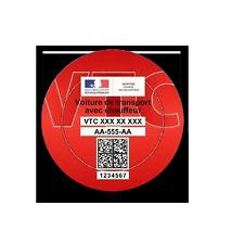 Support macaron VTC Stickers auto rétro ASSURDHESIFS