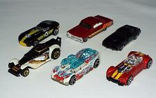 Hot Wheels Lot of 6 Loose Mystery Cars What-4-2 Fast Felion Cuda Ballistik Nova