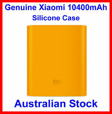 Genuine Soft Silicone Case Orange for Xiaomi 10400mah Power Bank