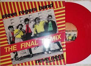 STEVE ROGERS BAND NEVE NERA (The Final Remix) Vinyl12 Edizione Limitata Numerata