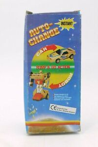80'S VINTAGE AUTO CHANGE BATTERY OPERATED CAR TO ROBOT TRANSFORMER MIB