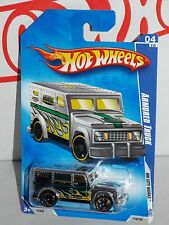 Hot Wheels 2009 City Works Series #110  Armored Truck Chrome w/ OH5SPs