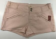 NO BOUNDARIES SHORT'S FOR WOMEN SIZE 13 NWT 70% COTTON 28% POLYESTER 2% SPANDEX