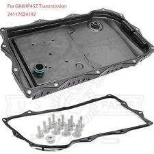 For BMW X3 X5 Auto Transmission Oil Pan + Filter + Gasket + Plug + Bolts Kit