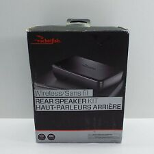 Rocketfish Universal Wireless Rear Speaker Kit RF-WRSK18-C (LOOK DESCRIPTION) G7