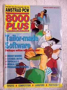 75363 Issue 35 Amstrad PCW 8000 Plus Magazine 1989