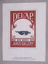 Tony DeLap Art Gallery Exhibit PRINT AD - 1979