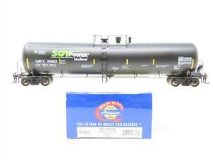 HO Scale Athearn 97613 GATX Soy Power 30K Gallon Ethanol Tank Car #30862