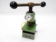New listing Rene Gerber Ag 3000Kg Mechanical Press 6600 Lb