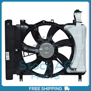 New A/C Radiator-Condenser Fan for Scion xD / Toyota Yaris 2007 to 2015