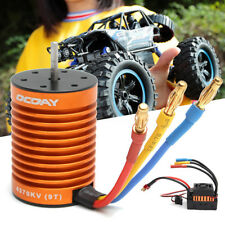 9T 4370KV Brushless Motor + 60A ESC Speed Controller Combo Set For 1/10 RC Car
