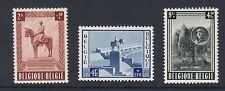 Bélgica: 1954 Rey Alberto Memorial Fund Set SG 1520-2 estampillada sin montar o nunca montada