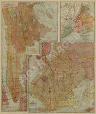 Grove City PA c1901 map 24x16
