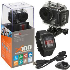 Kaiser Baas X100 WiFi Sports HD Waterproof Action Camera Camcorder Helmet Cam