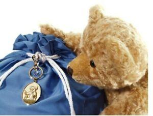 "Merrythought 18"" Edward Christopher Robin's Teddy Bear w/Growler, Free Keychain!"