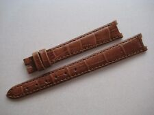 GENUINE TUDOR LADIES WATCH BAND STRAP BEAUTIFUL BROWN LEATHER 13 x 10 mm NEW