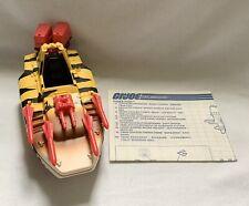 Vintage GI Joe | 1989 Tiger Fish TIGER FORCE | 100% Complete with Blueprints