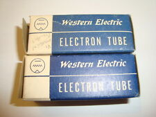 One Pair of Western Electric 396A / 2C51 Tubes, New-In-Box