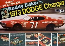 MPC Model Kits [MPC] 1:16 Buddy Baker 1973 Dodge Charger Stock Car MPC811