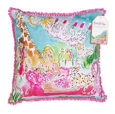 LILLY PULITZER LARGE PILLOW ZOO PARTY 18 X 18 LG Indoor Outdoor Home Decor NEW