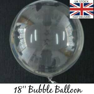 Bubble Balloon Clear Transparent Party Wedding 18 inch Small to Huge Bobo Decor
