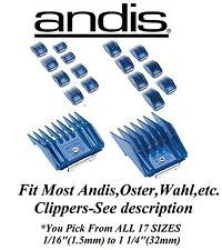 ANDIS Universal Clip On Attachment Guard Blade COMB*Fit Many Oster,Wahl Clippers