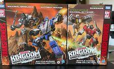 Transformers Kingdom WFC Battle Across Time Lot Of 2 - Complete Sets - NIB