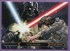 ✧✧ 2015: Star Wars Illustrated-Empire Strikes Back: Bronze Parallel Card: #93